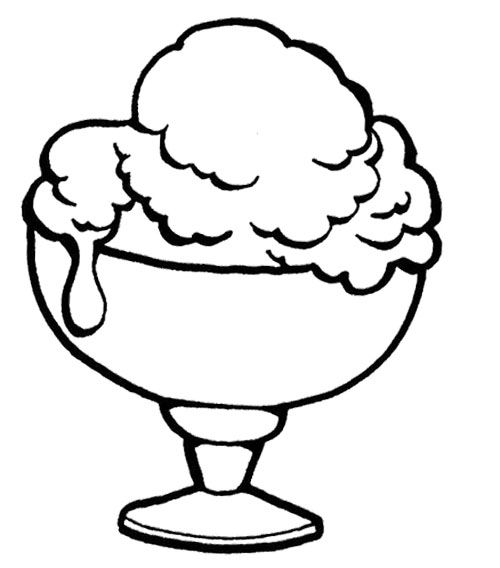 coloring pages of ice cream sundaes ice cream sundae coloring page clipart panda free cream coloring pages sundaes ice of
