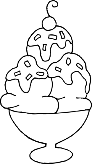 coloring pages of ice cream sundaes ice cream sundae coloring page coloring home cream ice sundaes coloring pages of