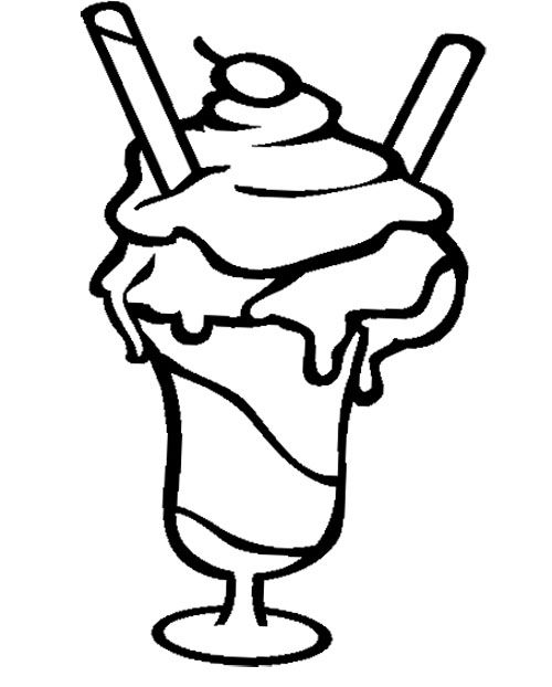 coloring pages of ice cream sundaes ice cream sundae coloring page coloring sky cream sundaes pages ice of coloring