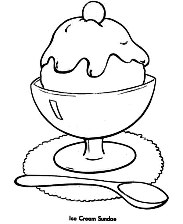 coloring pages of ice cream sundaes sweet treats online coloring pages page 1 of coloring ice sundaes pages cream