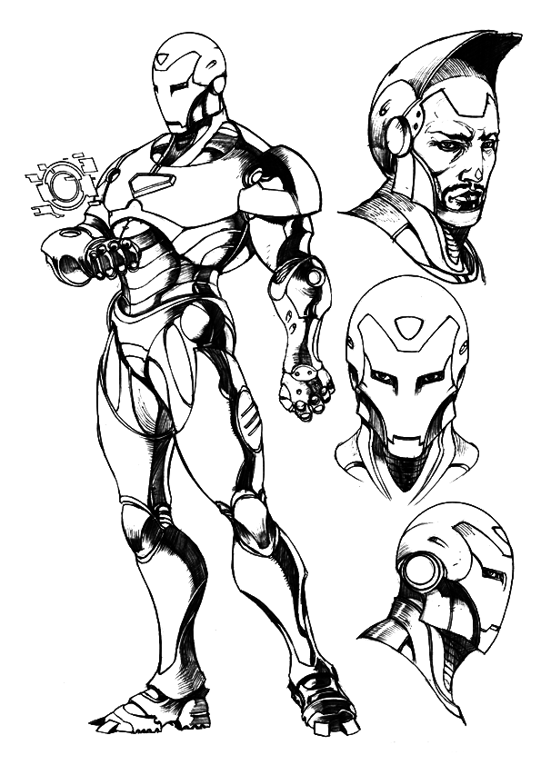 coloring pages of iron man free printable iron man coloring pages for kids cool2bkids coloring man pages iron of