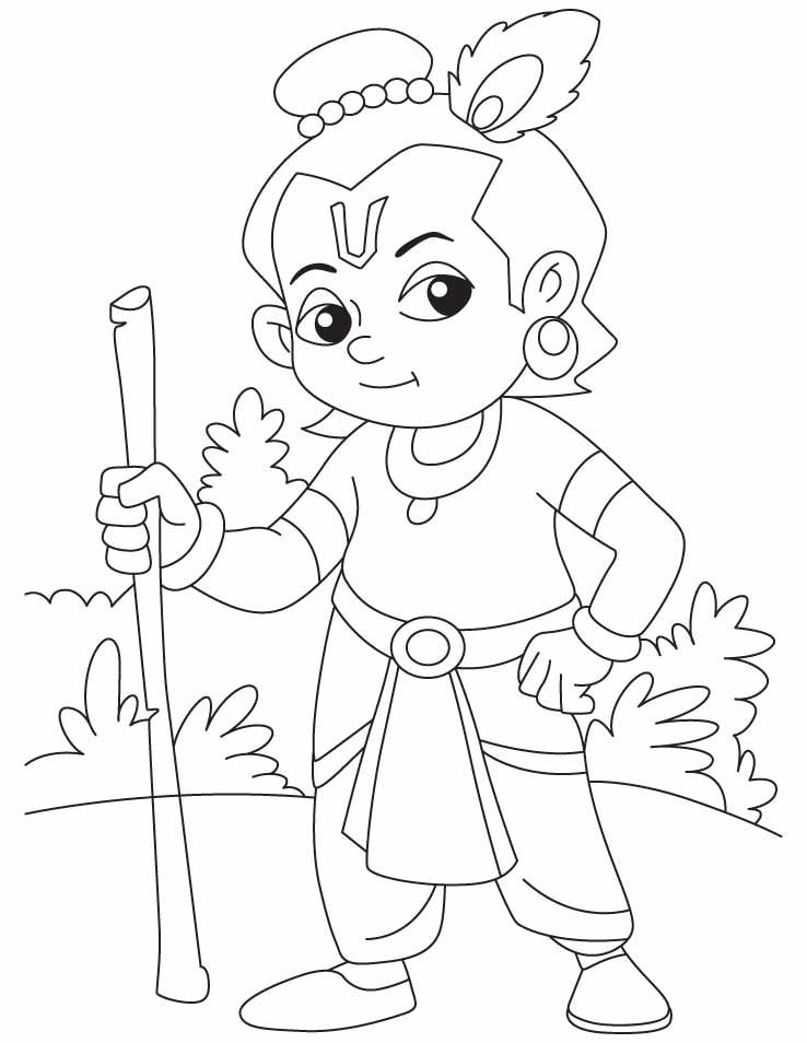 coloring pages of krishna lord krishna coloring pages in 2019 krishna painting of pages coloring krishna