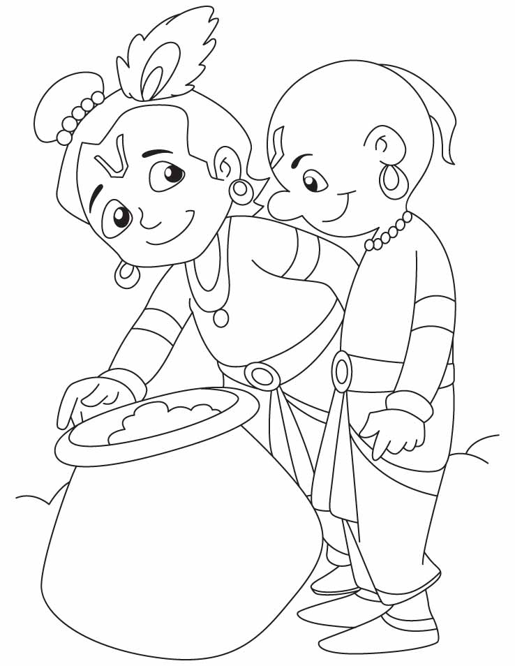 coloring pages of krishna lord krishna coloring pages learny kids pages of coloring krishna