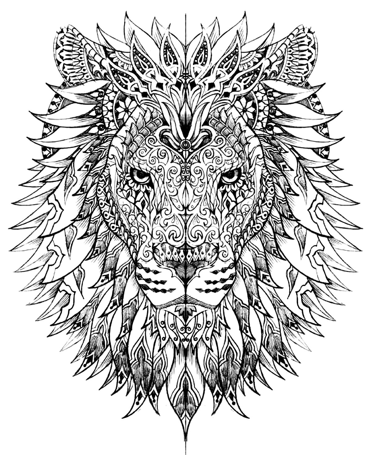 coloring pages of lion free easy to print lion coloring pages tulamama pages coloring lion of