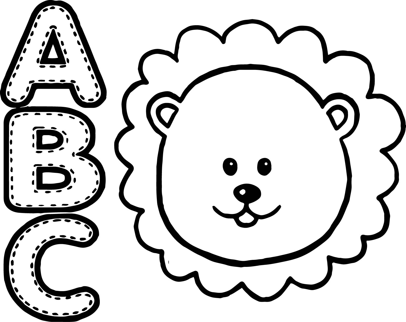 coloring pages of lion lion coloring pages free download on clipartmag lion coloring of pages