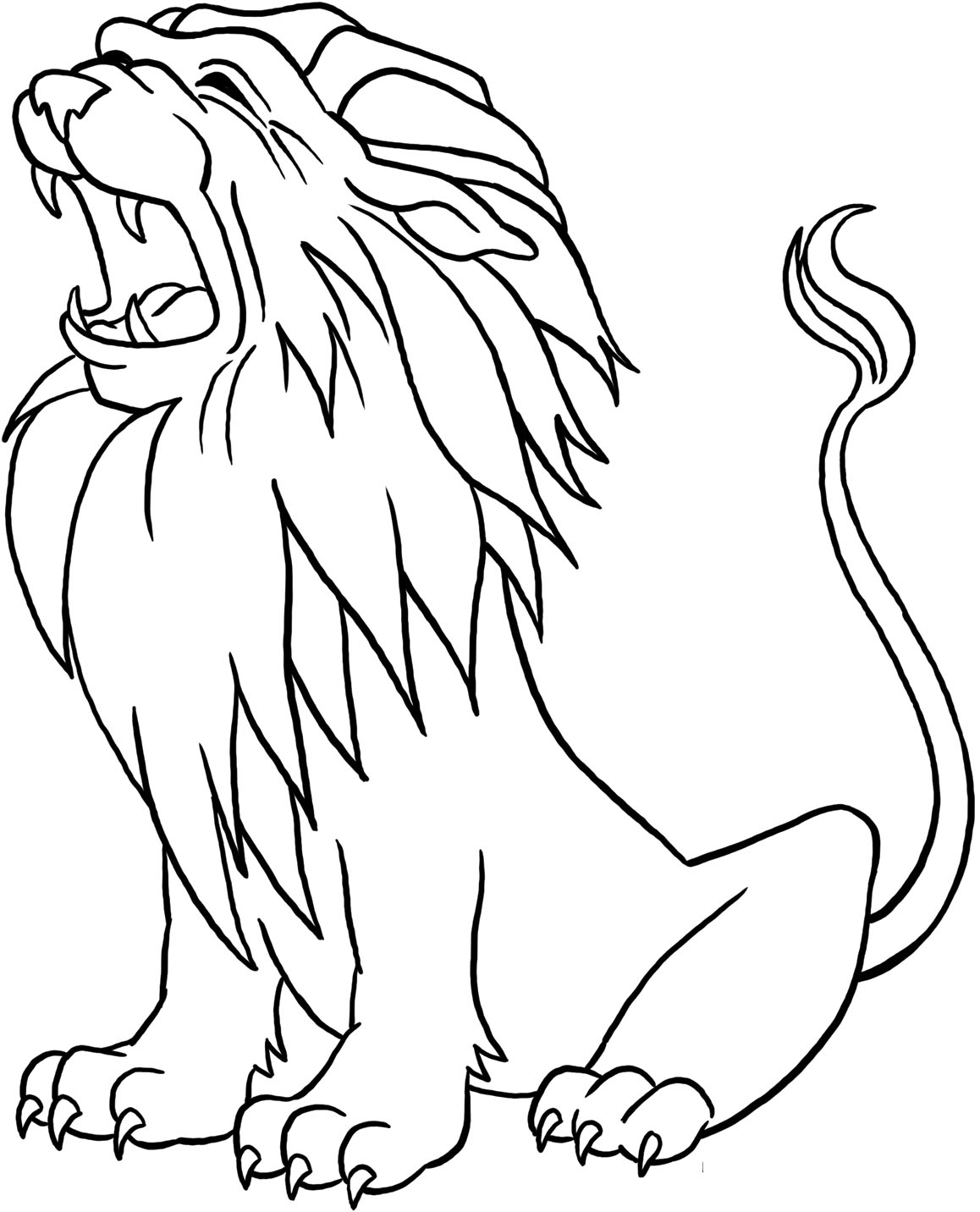 coloring pages of lion lion coloring pages only coloring pages of lion coloring pages
