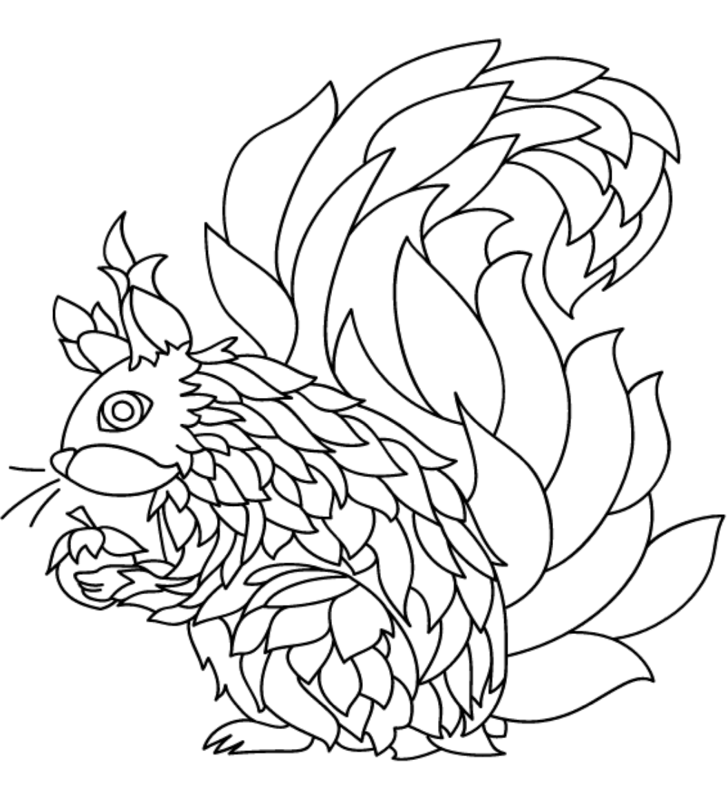 coloring pages of squirrels squirrel coloring pages coloring pages squirrels of