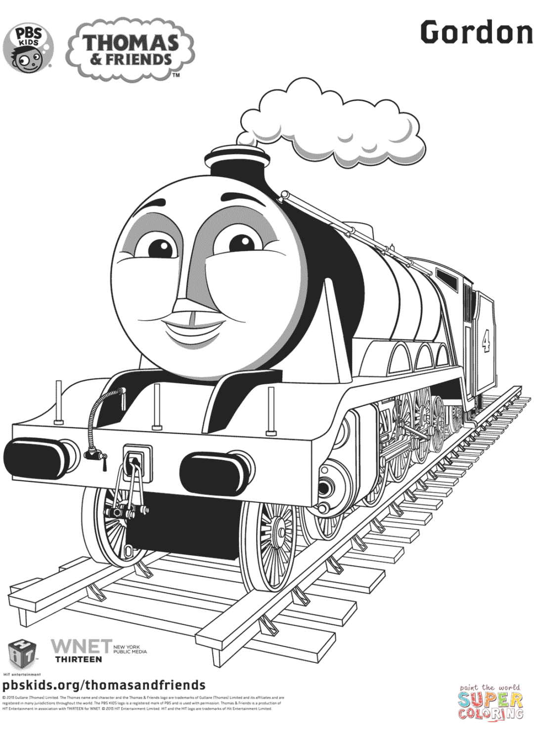 coloring pages of thomas and friends thomas the train coloring pages pdf at getcoloringscom friends thomas coloring of and pages