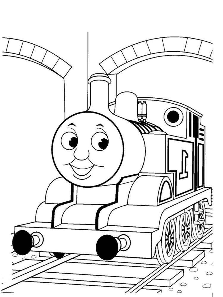 coloring pages of thomas and friends thomas train drawing at getdrawings free download coloring thomas pages of and friends