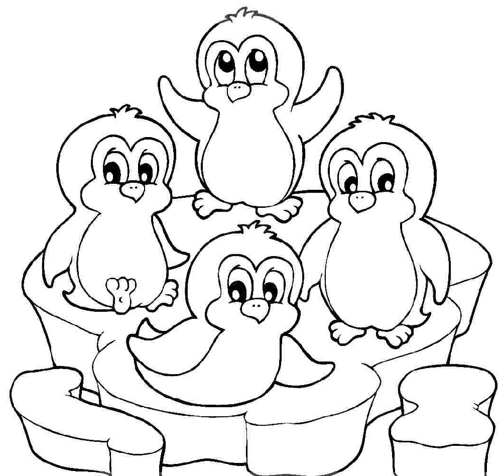 coloring pages penguins christmas penguin coloring pages free download on clipartmag coloring penguins pages