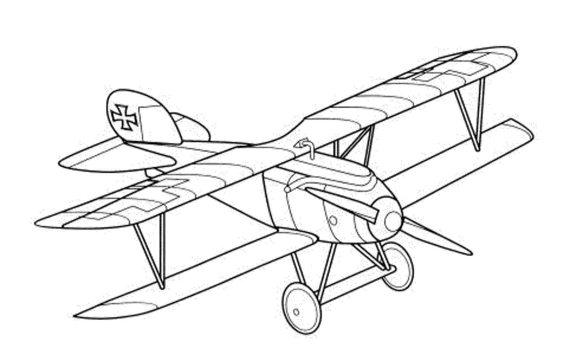 Coloring pages planes