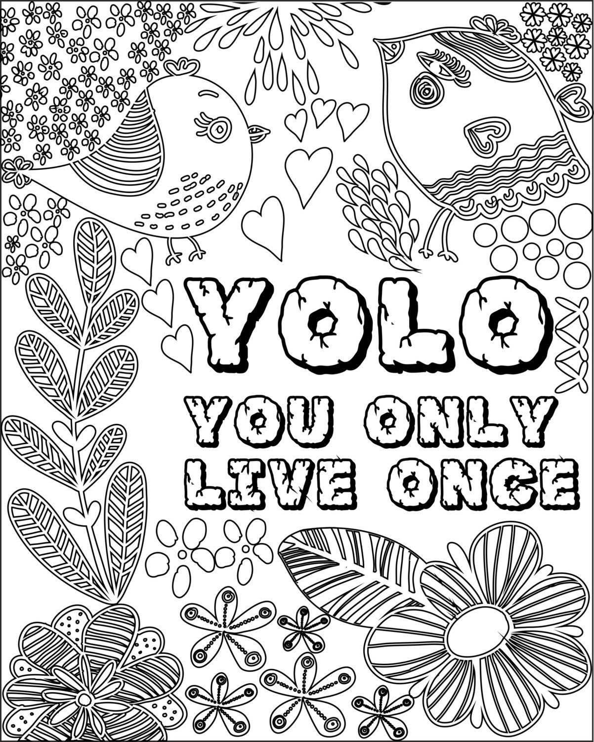 coloring pages quotes for adults 12 inspiring quote coloring pages for adultsfree printables pages quotes adults for coloring