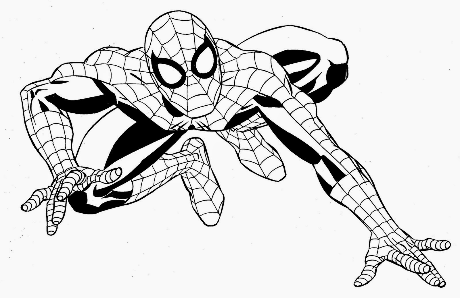 Coloring pages superhero