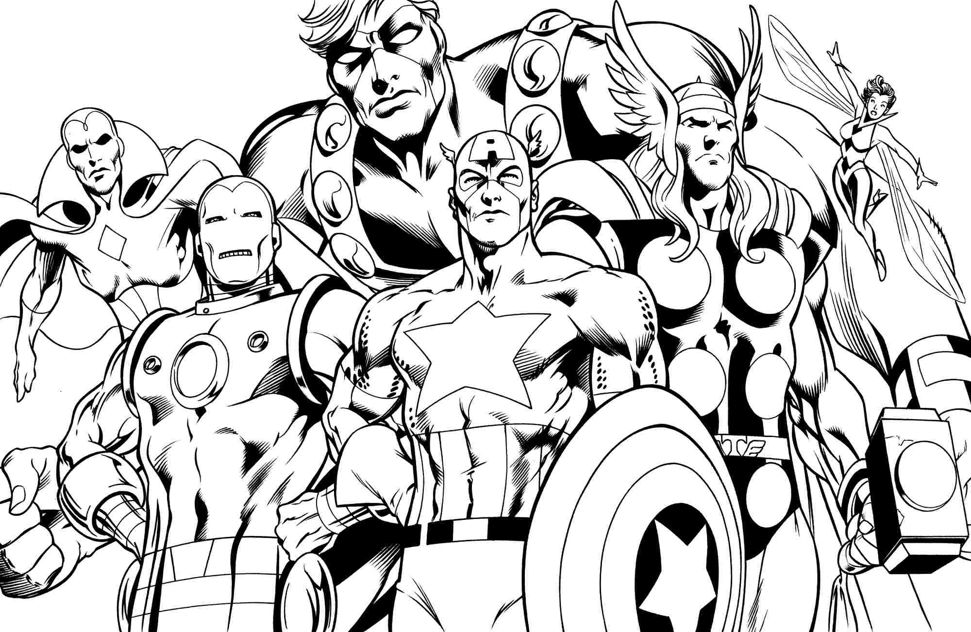coloring pages superhero superhero coloring pages to download and print for free superhero pages coloring