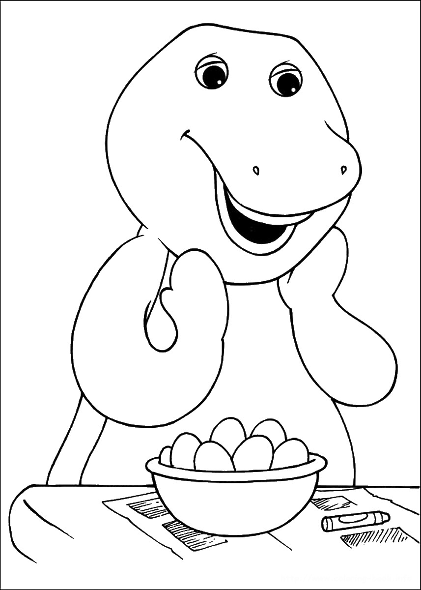 coloring pages to color online barney coloring pages online to color coloring pages