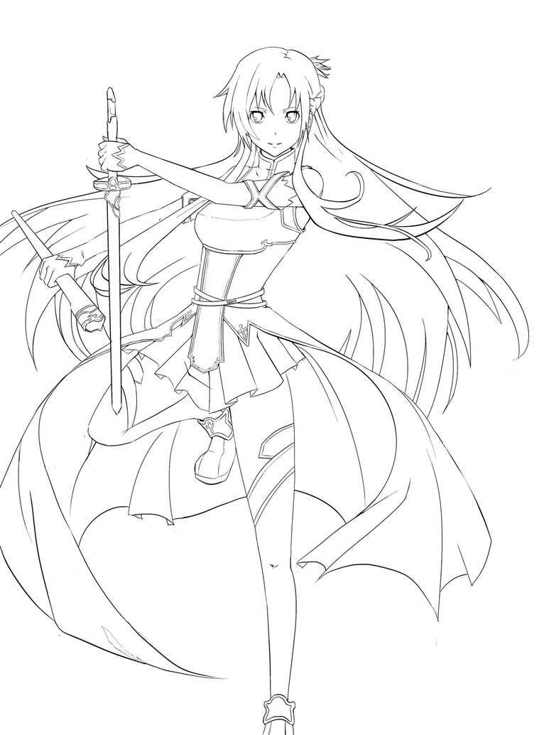 coloring pages to color online sword art online coloring pages coloring home coloring pages to online color