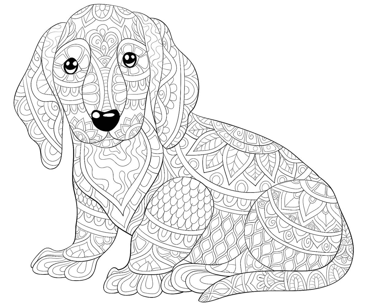 coloring pages to print dogs pug dog coloring pages coloring home coloring dogs pages to print