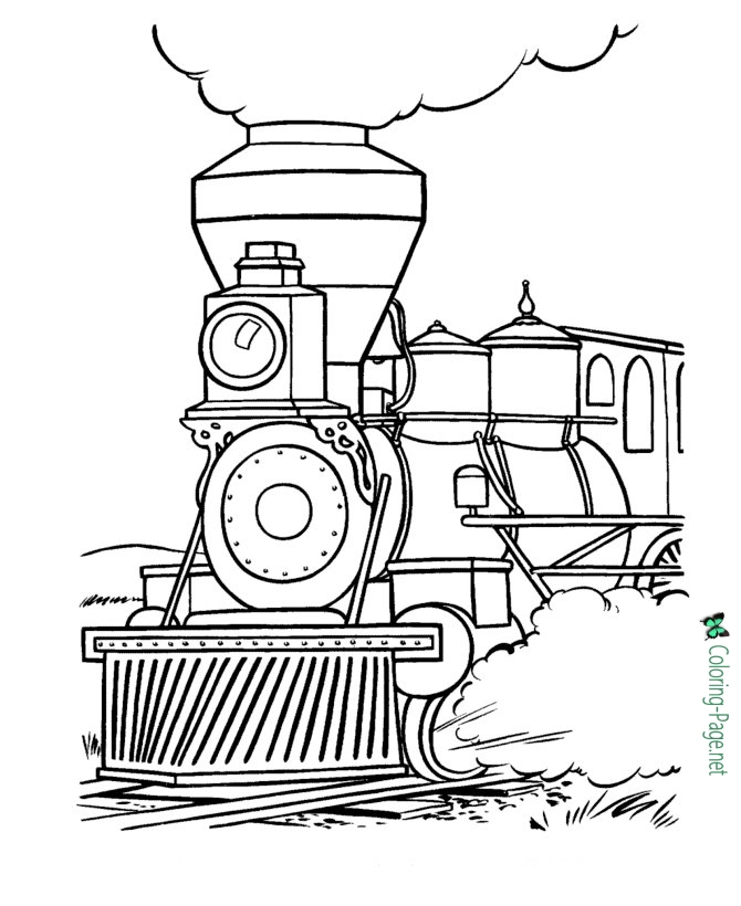 coloring pages trains free printable train coloring pages for kids cool2bkids coloring trains pages 1 1