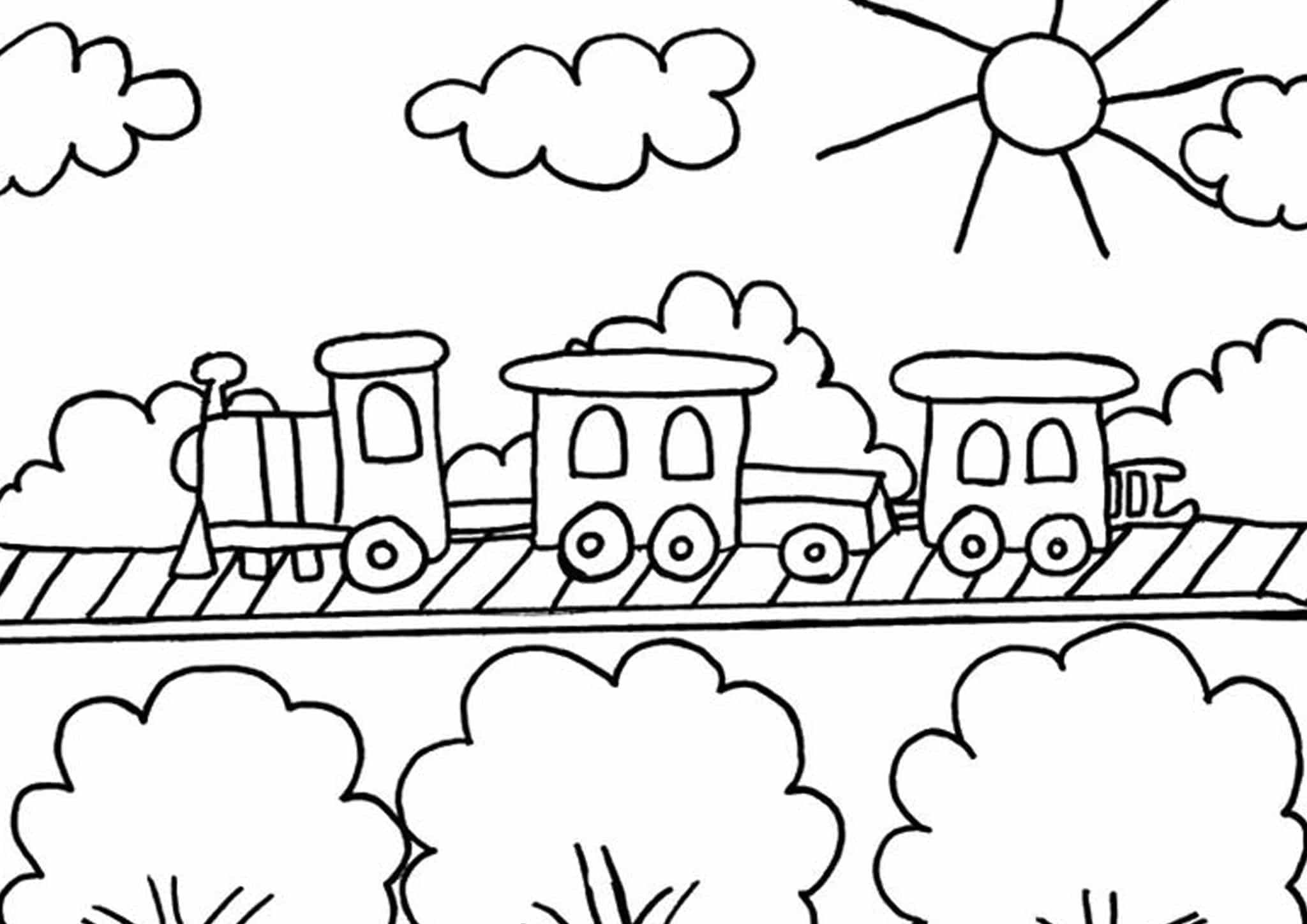 coloring pages trains free printable train coloring pages for kids pages trains coloring