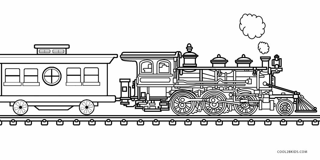 coloring pages trains freight train on railroad coloring page color luna trains pages coloring