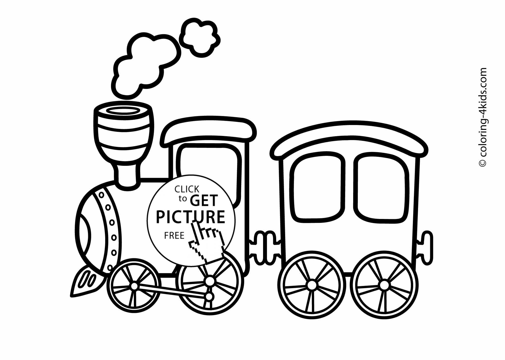 coloring pages trains steam locomotive coloring page clrg coloring trains pages