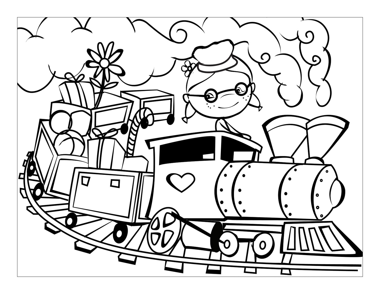coloring pages trains train coloring pages free download on clipartmag trains pages coloring