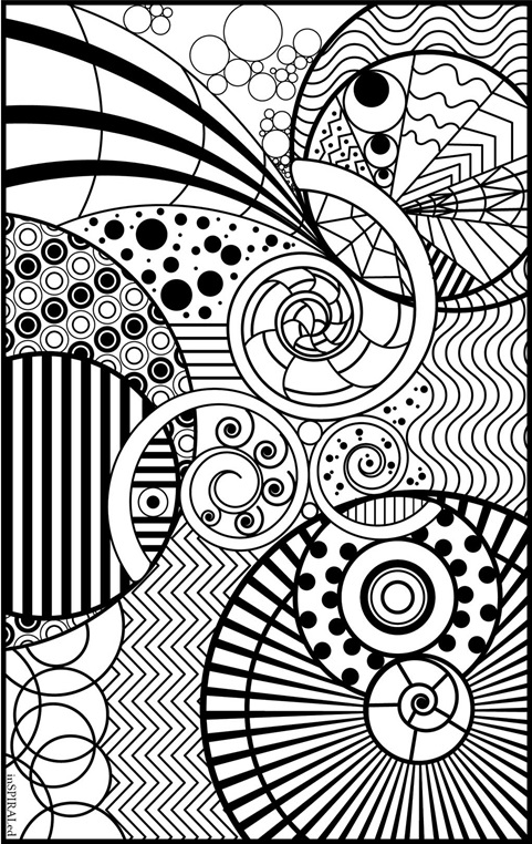 coloring papers inspiraled coloring page crayolacom coloring papers