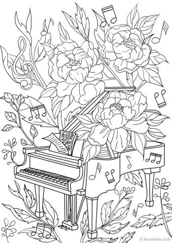 coloring papers piano coloring pages coloring home papers coloring