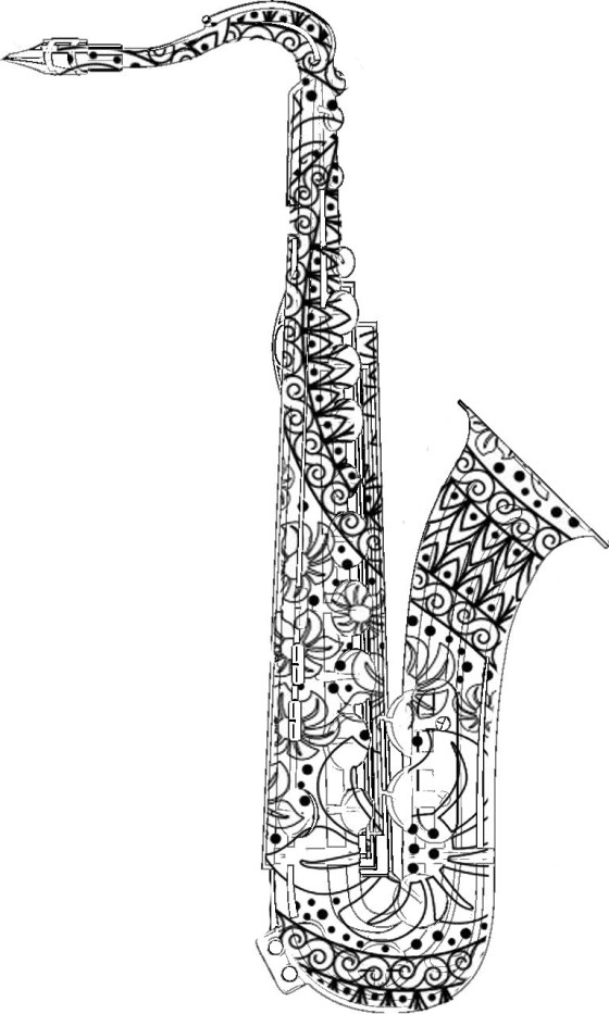 coloring pencils and markers adult coloring pages saxophone gt for the best coloring coloring and pencils markers