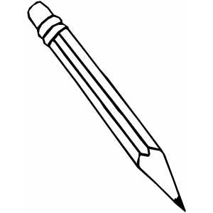 coloring pencils clipart cartoon clipart of a black and white girl with a pencil clipart coloring pencils