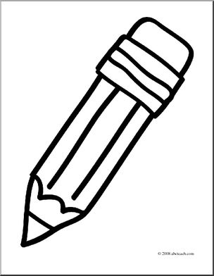 coloring pencils clipart library of simple pencil jpg free download black and white coloring pencils clipart