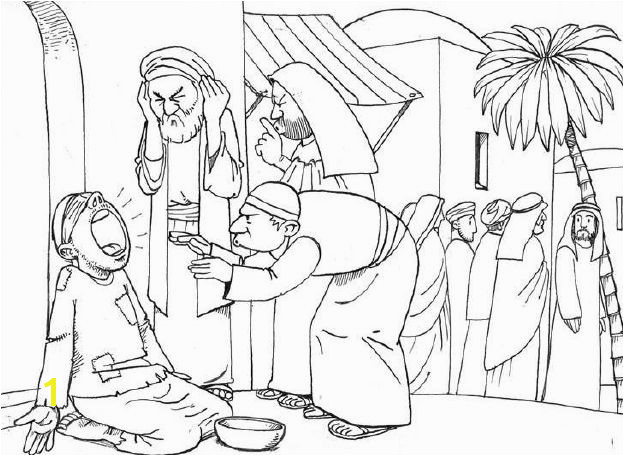 coloring peter and john heal a lame man bible coloring pages new testament god bcm peter man and peter john coloring a heal lame