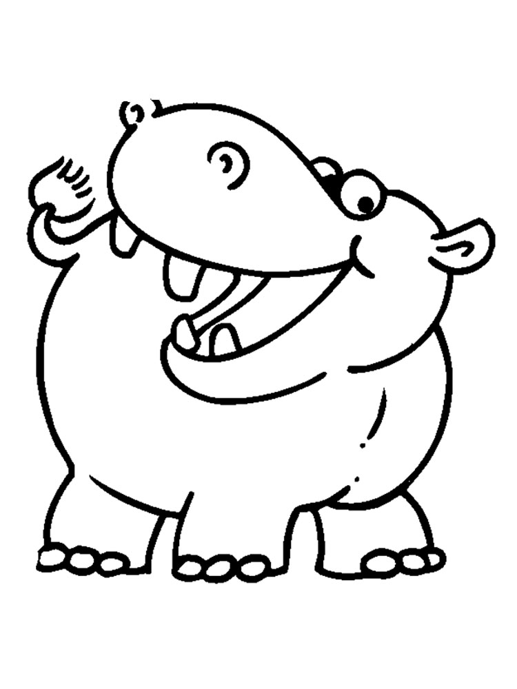 coloring picture hippo hippo coloring pages kidsuki hippo picture coloring