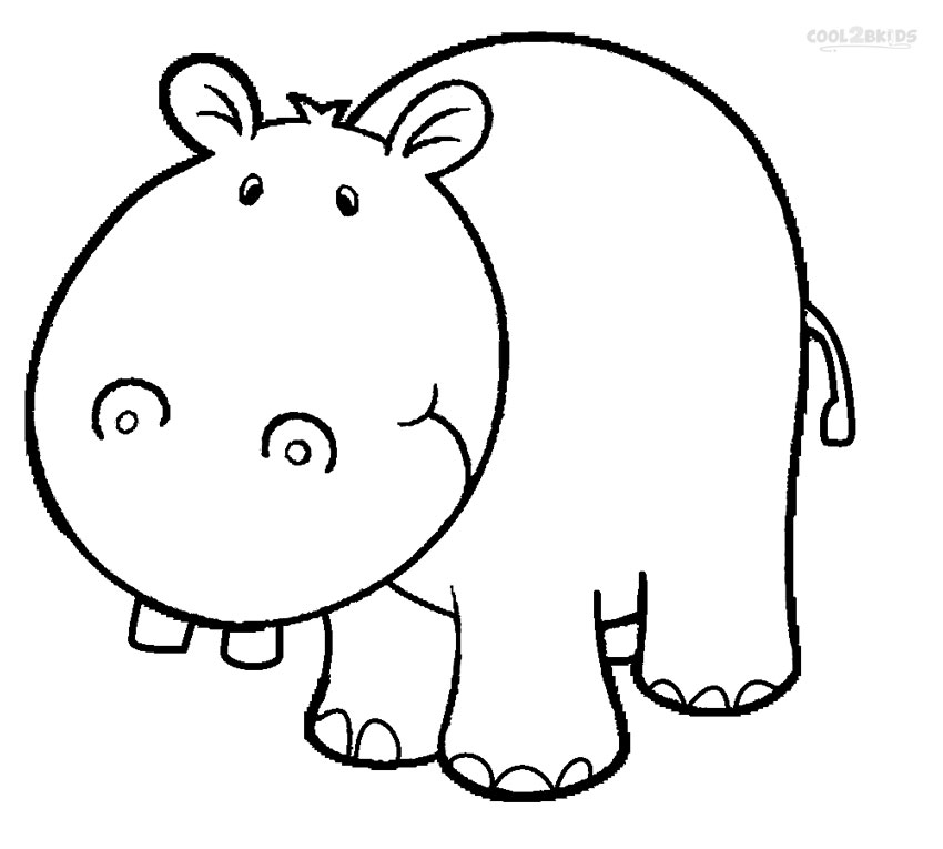 coloring picture hippo printable hippo coloring pages for kids picture hippo coloring