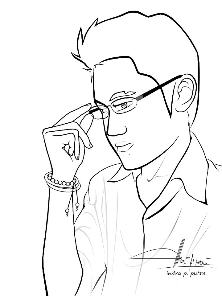 coloring picture man business man looking at his watch coloring pages best coloring picture man