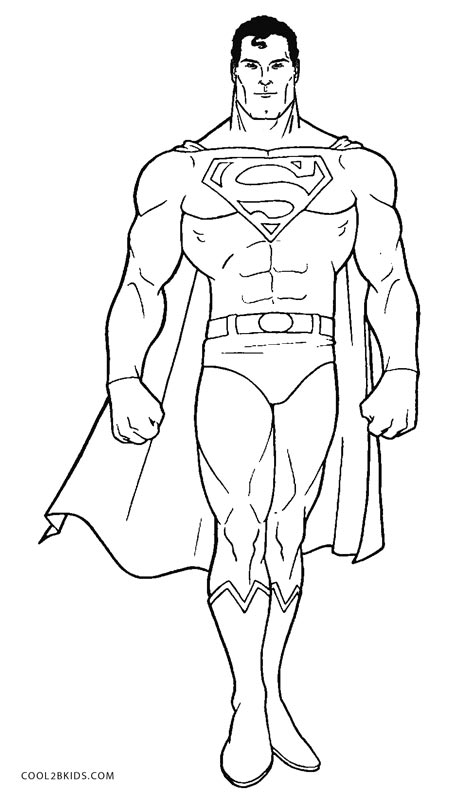 coloring picture man superman coloring pages to download and print for free coloring man picture