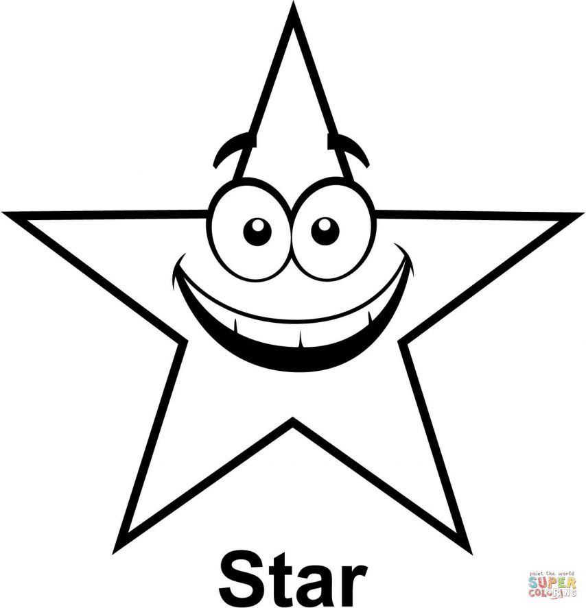 coloring picture of a star free printable star coloring pages for kids picture of star coloring a