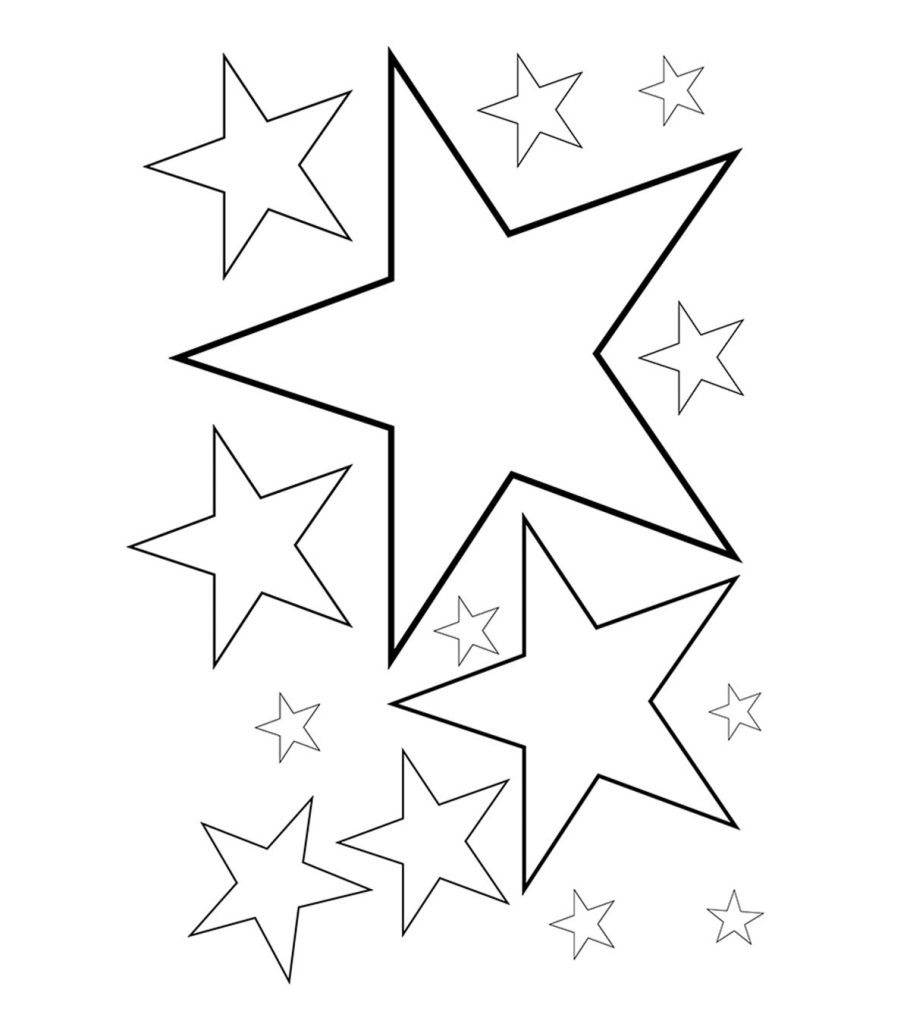 coloring picture of a star star coloring pages for childrens printable for free coloring a star of picture