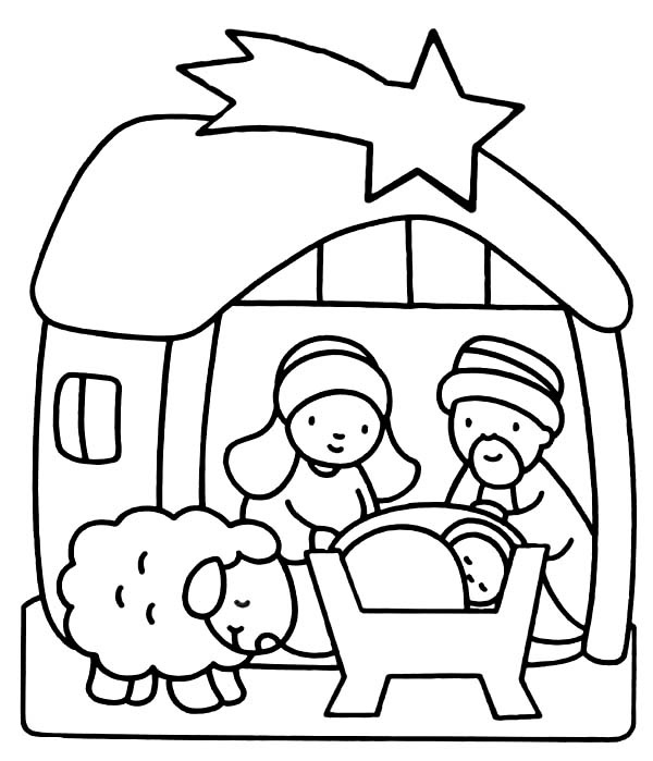 coloring picture of baby jesus baby jesus coloring pages best coloring pages for kids jesus baby coloring picture of