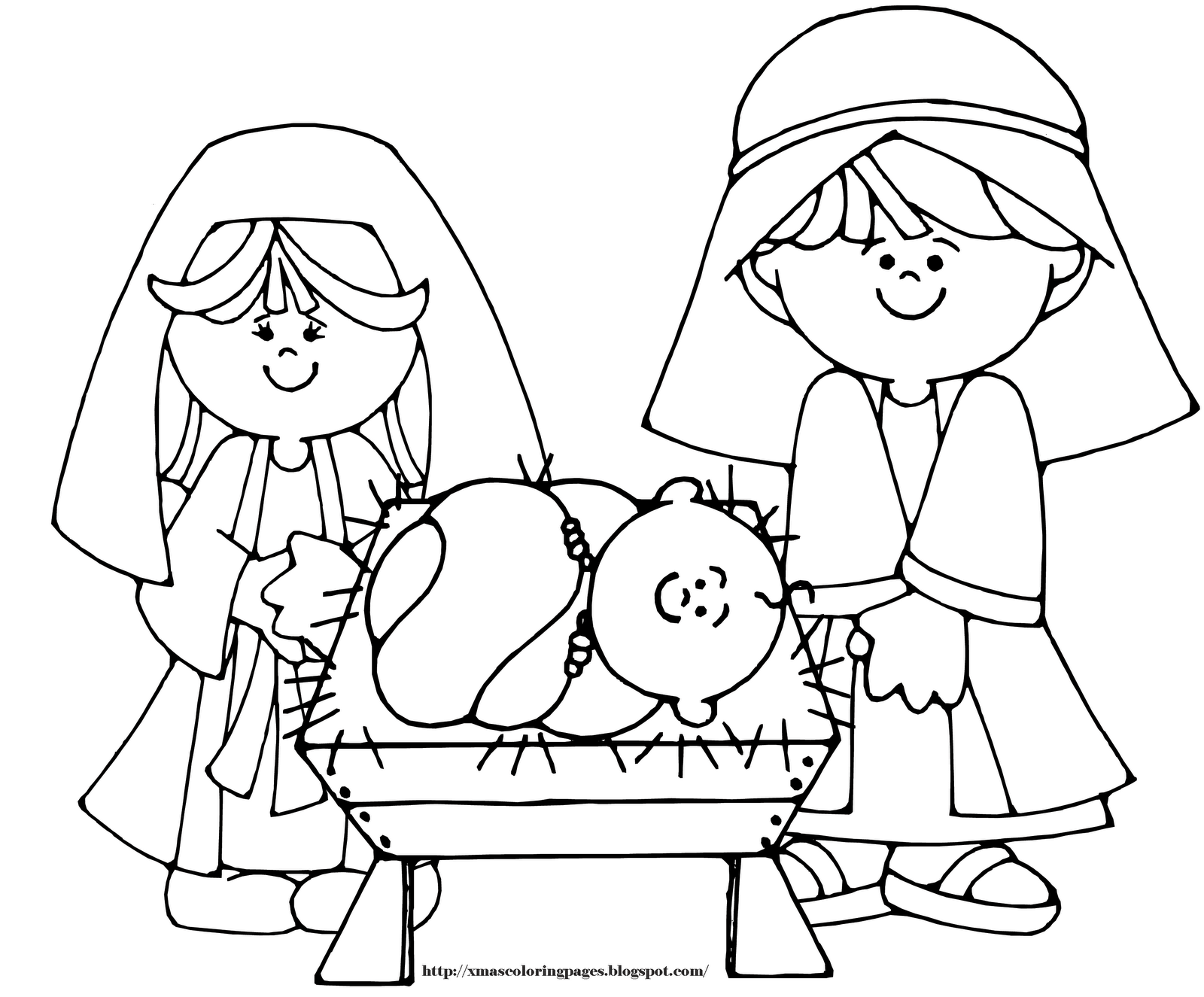coloring picture of baby jesus baby jesus in a manger in nativity coloring page color luna baby picture jesus of coloring