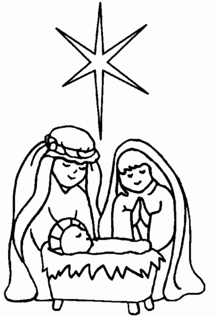coloring picture of baby jesus baby jesus in the manger coloring pages at getcolorings picture jesus baby coloring of