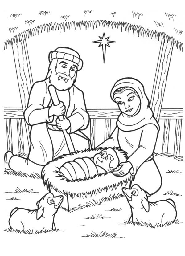coloring picture of baby jesus jesus in the manger coloring page clip art library picture of baby coloring jesus