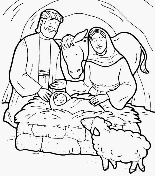 coloring picture of baby jesus picture nativity of baby jesus coloring page kids play color coloring baby picture of jesus