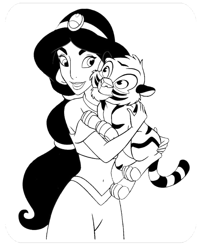 coloring picture of jasmine jasmine coloring sheets coloring jasmine of picture