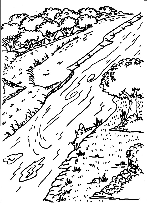 coloring picture river download columbia river coloring for free designlooter river coloring picture