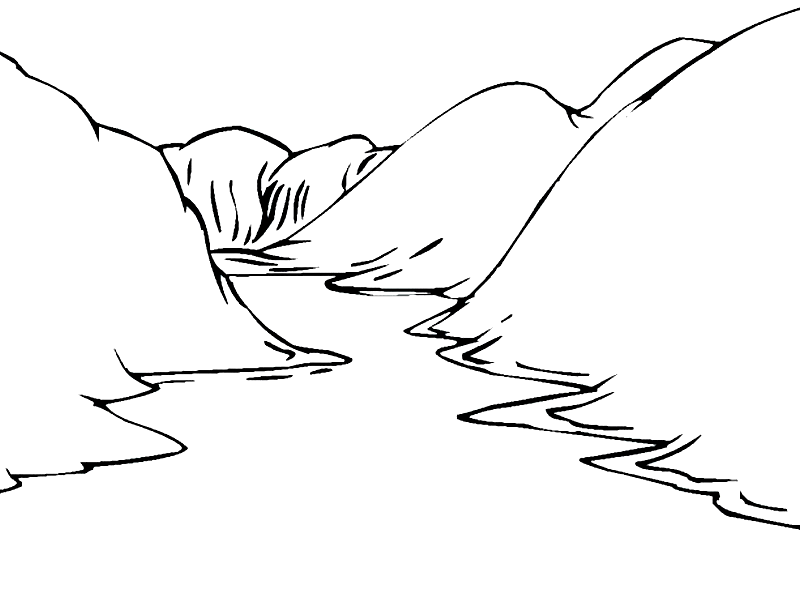 coloring picture river stream drawing coloring page river landscape coloring picture river coloring
