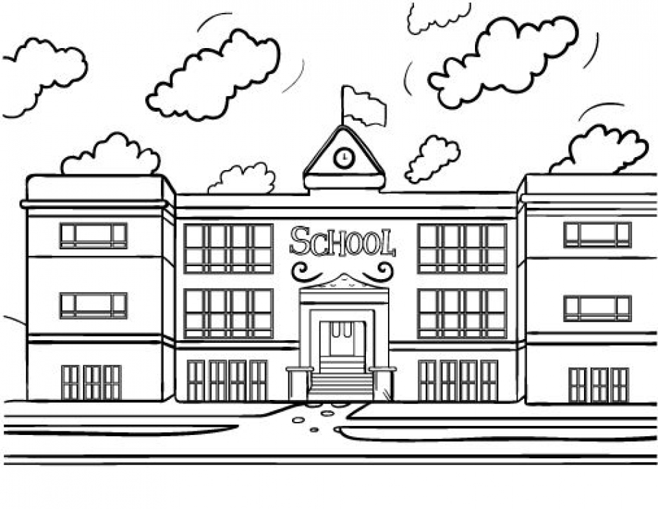 coloring picture school school age coloring pages at getcoloringscom free coloring picture school