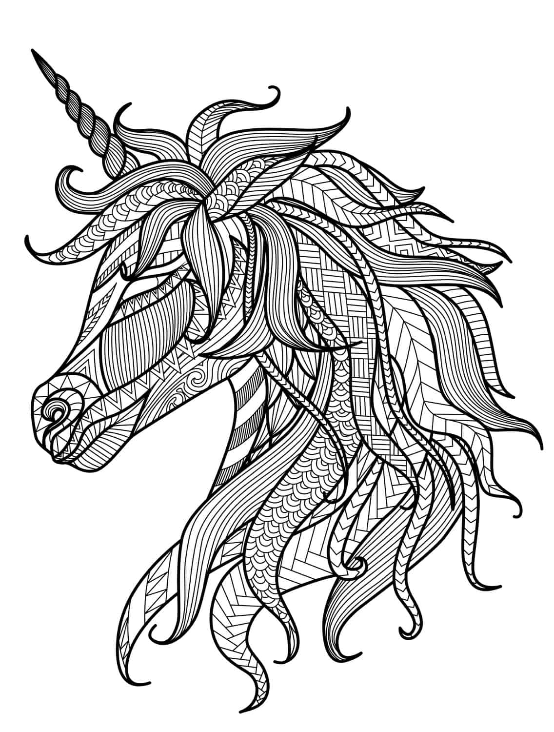 coloring picture unicorn free coloring pages coloringrocks unicorn picture coloring