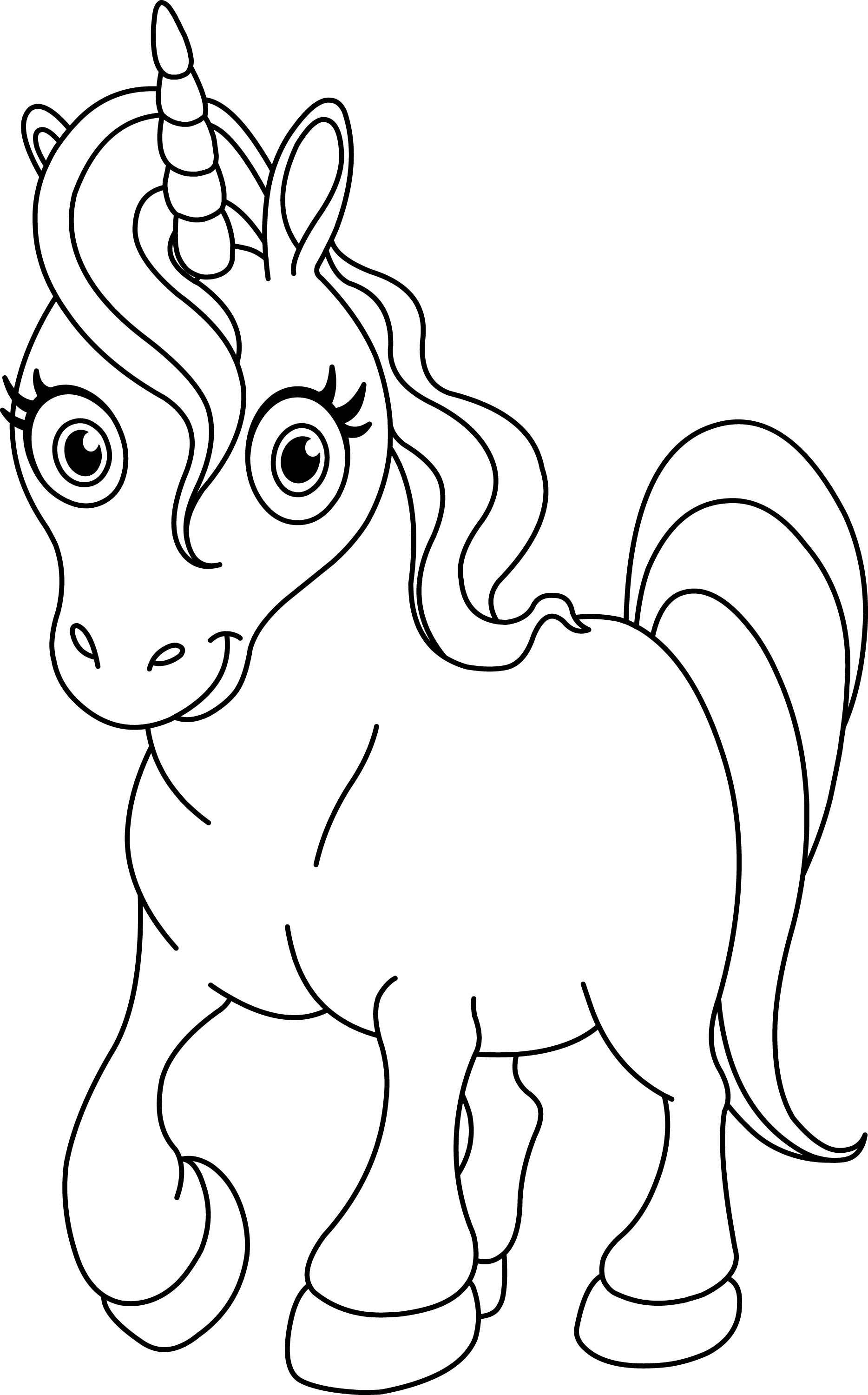 coloring picture unicorn free printable coloring pages for girls unicorn coloring picture