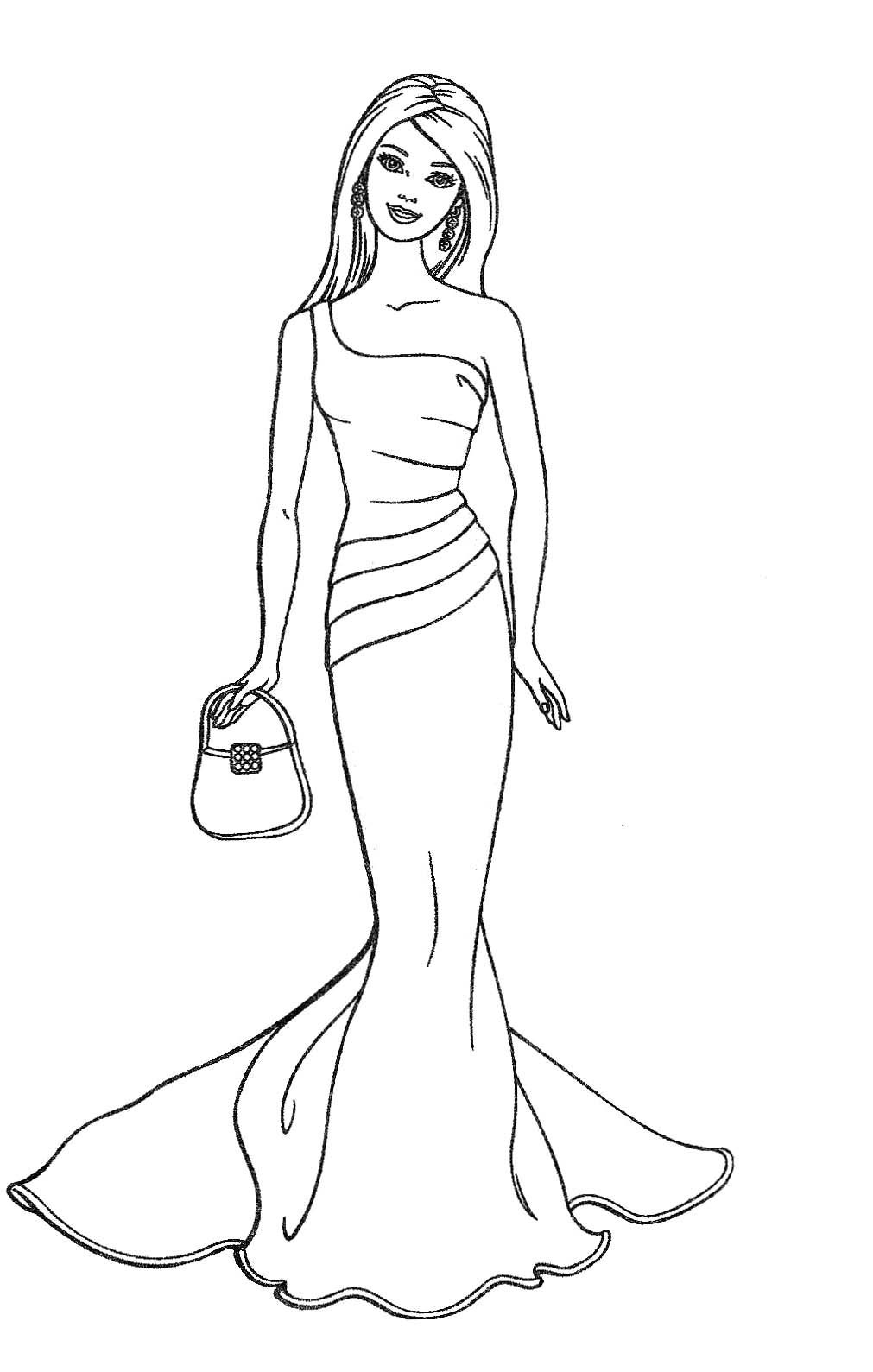coloring pictures barbie barbie coloring pages at getdrawings free download coloring pictures barbie